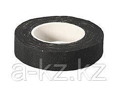 Изолента ЗУБР на хлопчатобумажной основе, чёрная, 18мм х 9м, 1231-11