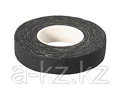 Изолента ЗУБР на хлопчатобумажной основе, чёрная, 18мм х 15м, 1231-19