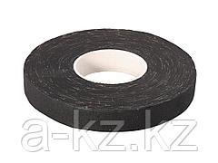 Изолента ЗУБР на хлопчатобумажной основе, чёрная, 18мм х 33м, 1231-25