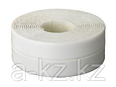 Бордюрная клейкая лента STAYER 12341-20-20, PROFI, для ванн и раковин, самоклеящаяся, профиль L, цвет белый, 20 х 20 мм х 3,35 м