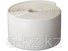 Бордюрная клейкая лента STAYER 12341-30-30, PROFI, для ванн и раковин, самоклеящаяся, профиль L, цвет белый, 30 х 30 мм х 3,35 м