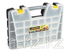 Ящик для инструментов STAYER 38037-15, MULTYSHEL, пластмассовый, 15 дюймов