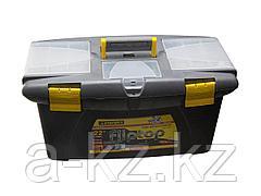 Ящик для инструментов STAYER 2-38015-25, FLIP TOP, пластмассовый, 25 дюймов