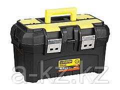 Ящик для инструментов STAYER 38016-16, MASTER, пластиковый, 420 x 250 x 230 мм, 16 дюймов