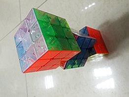 Полупрофессиональный Кубик Рубика 3x3x3 из цветного пластика