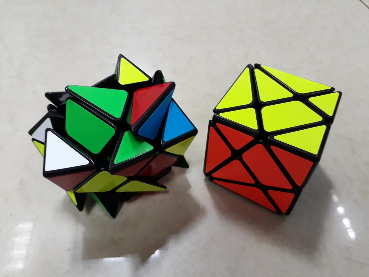Кубик Рубика Аксис в черном пластике