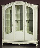 """Витрина 3-х дверная """"Парма-11-02"""" из массива древесины"""