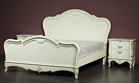 """Кровать """"Парма-58-02"""" из массива древесины"""