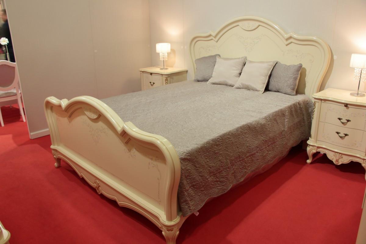 """Кровать """"Парма-59-02"""" из массива древесины"""
