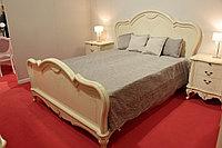 """Кровать """"Парма-59-02"""" из массива древесины, фото 1"""