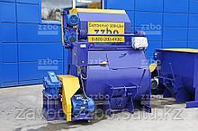 Одновальный бетоносмеситель БП-1Г-450с