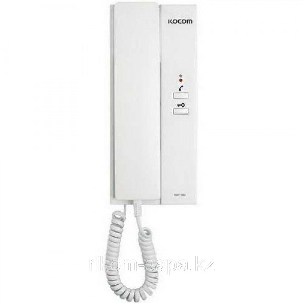 Трубка аудиодомофона KOCOM KDP-602G