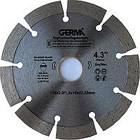 Алмазный круг по бетону 115x22,23 Germa