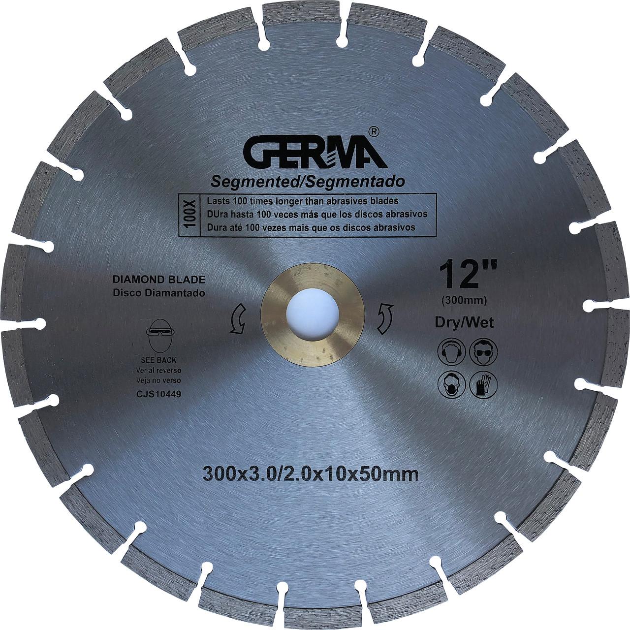 Алмазный диск по бетону 300x50 Germa