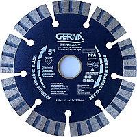 Алмазный диск  по бетону Turbo 125x22,23 Germa