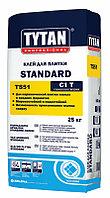 Клей для плитки TYTAN STANDARD TS 51 25 кг