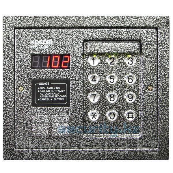 Вызывная панель многоквартирного аудиодомофона KOCOM KLP-1000