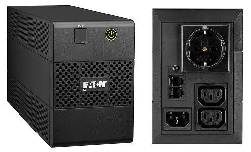 ИБП Eaton 5E650iUSBDIN 650VA/360W, линейно-интерактивный
