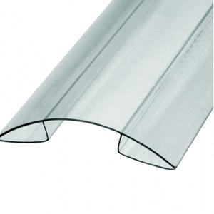 Коньковый профиль из поликарбоната 6 метров (8 мм-10 мм)