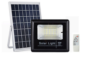 Led светильники, прожекторы на солнечных батареях