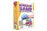 Песок кинетический в наборе с формочками, фото 2