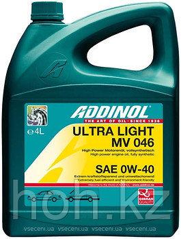 Масло моторное ADDINOL ULTRA LIGHT MV 046 SAE 0W40