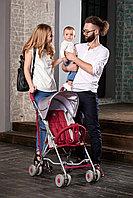 Детская прогулочная коляска Happy Baby Twiggy (red)