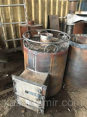 """Банная печь круглая """"Сауна (сухопарник)"""", фото 2"""