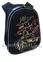 Рюкзак с ортопедической спинкой танки