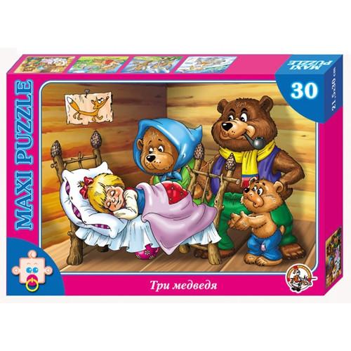 """Макси пазл """"Три медведя"""", 30 элементов"""