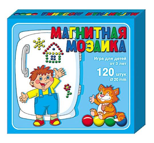 Магнитная мозаика, 120 деталей