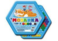 Игровой набор детская мозаика, шестигранная, 150 фишек, 6 цветов