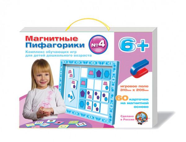 """Набор обучающих игр для детей дошкольного возраста """"Магнитные Пифагорики №4"""" (возраст 6+)"""