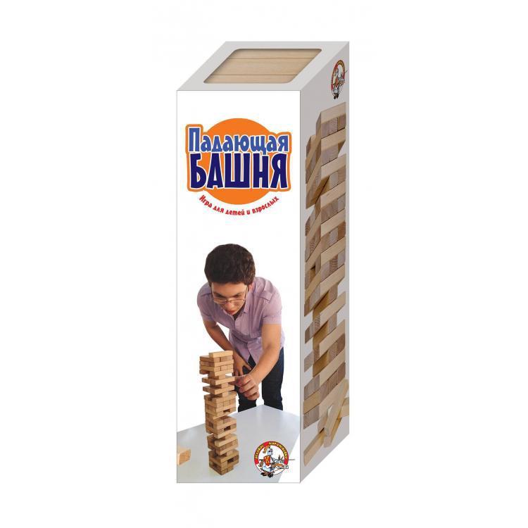 """Настольная игра """"Падающая башня"""""""