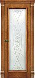 Межкомнатная шпонированная дверь Тоскана бренди ДО и ДГ, фото 6
