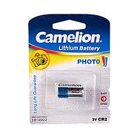 Батарейка Camelion CR2-BP1 Lithium, 3V