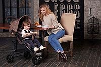 Детская прогулочная коляска Happy Baby Ultima (Beige), фото 1