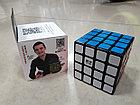 Кубик Рубика 4x4x4 Qiyi Cube в черном пластике, фото 5