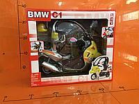 Машинка Модель крытого мото-скутера BMW C1 (большая)