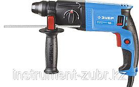 Перфоратор SDS-plus, ЗУБР Профессионал ЗП-18-470, 1.4 Дж, 0-1750 об/мин, 0-7400 уд/мин, 470 Вт