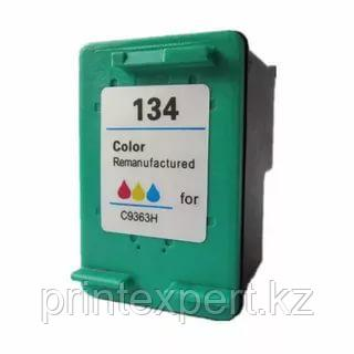Картридж HP C9363HE Tri-color Inkjet Print Cartridge №134,14ml, for DJ 460C/5743/5943/6543/6623/6843/6943/6983, фото 2