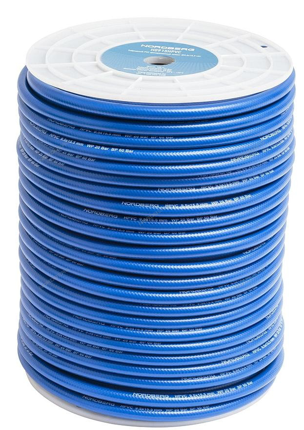 (NORDBERG) ШЛАНГ H0915HPVC воздушный гибридный PVC Ø9,5х15,5мм, 1м