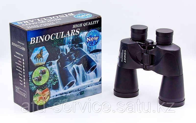Бинокль COMET 20х50DPSI (пластик, стекло, PVC-чехол), (AX6, 8х40-точ) - фото 1