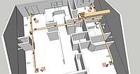 Разработка ТЭО на вентиляцию и отоплению зданий