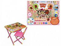 Набор мебели Дэми Винни-Пух розовый, фото 1