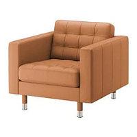 Кресло ЛАНДСКРУНА Гранн, Бумстад золотисто-кори ИКЕА, IKEA