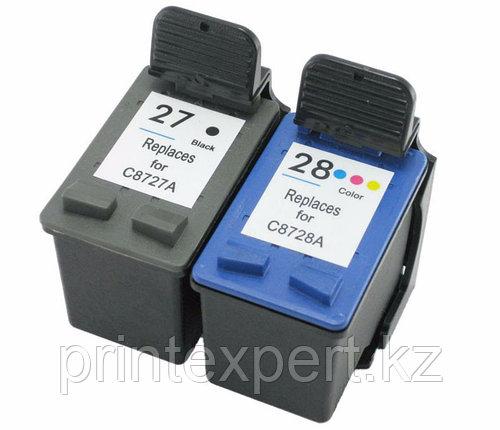 Картридж HP C8727AE Black Inkjet Print  №27, 10ml, , фото 2