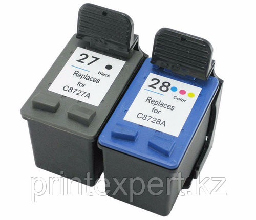 Картридж HP C8728AE Tri-color Inkjet Print Cartridge №28, 8ml,, фото 2