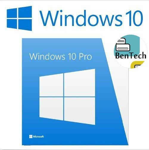 Windows 10 Professional Win10 Pro 32/64 Bits SVC DPK