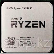 Процессор AMD Ryzen 3 1300X 3,5ГГц (Summit Ridge 3,7ГГц Turbo) 4 ядра, 4 потока, 2 MB L2, 8MB L3, 65W, AM4